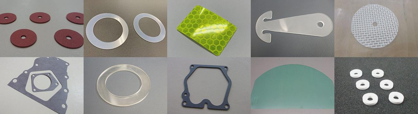 対応材種462種類! 多種多様な材質の抜き加工に対応いたします!