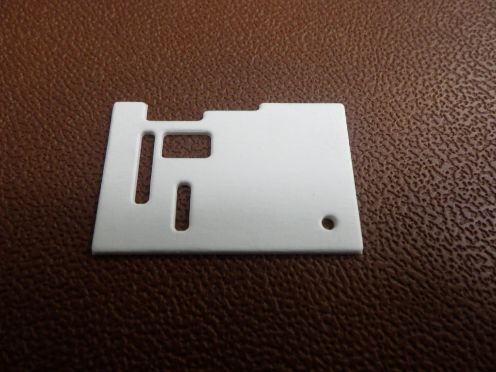 厚紙 抜き加工品(φ2、R0.5)